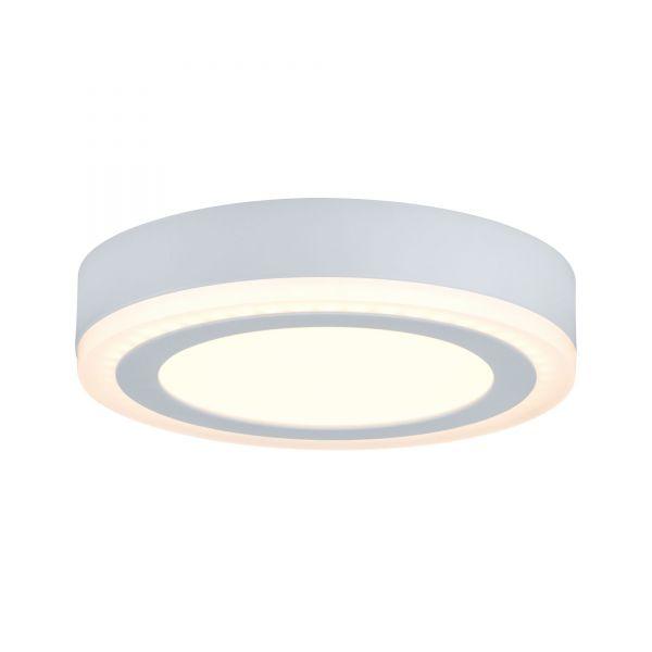 Paulmann WallCeiling Sol LED-Panel 7W 195mm Weiß 230V Alu