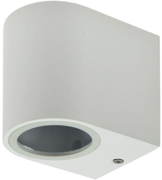 """LED-Wandleuchte """"CTW-1"""" für 1x GU10, IP44, Gehäuse weiß"""