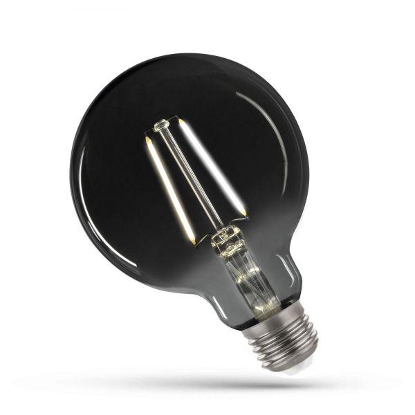 Modernshine SpectrumLED GLS E27 Filament Rauchglas Big Globe 4,5 W COG NW