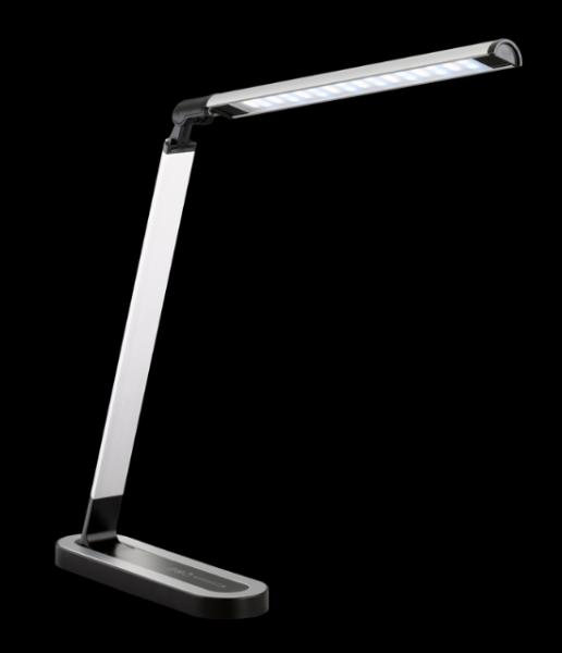 Honsel LED Tischleuchte silber/schwarz 7W 3000K