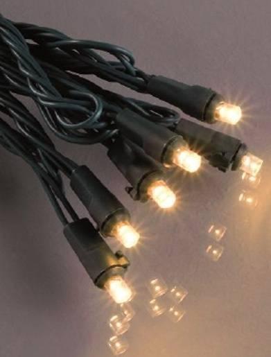 LED Lichterkette 28,9m mit verschiedenen Effekten inkl. Fernbedienung für Aussenbereich Warmweiß