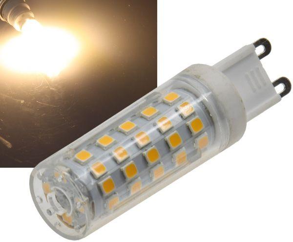LED Stiftsockel G9, 8W, 720lm 330°, 230V, 3000K, warmweiß