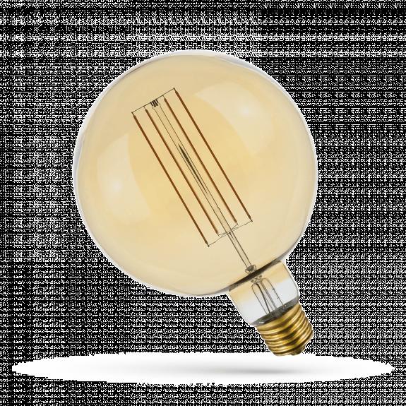 LED Retro Shine Hängeleuchte Rund 6 Watt 350 Lumen