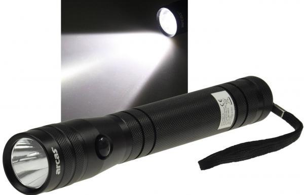 5W HighPower LED-Taschenlampe 200lm IP62 und 5 Watt