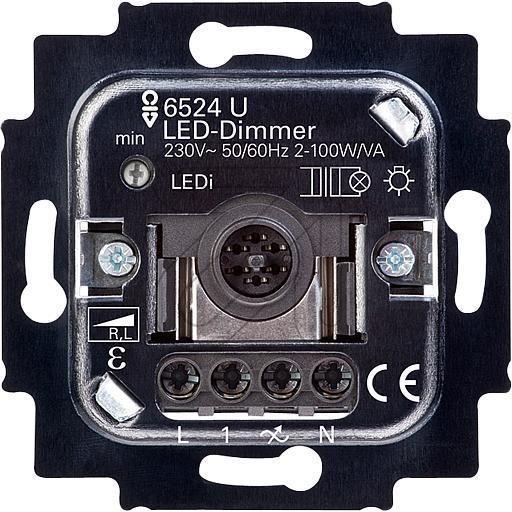 BUSCH-JAEGER LED-Dimmer 6523 UR-103 2D 400VA