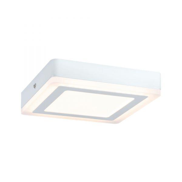 Paulmann WallCeiling Sol LED-Panel 7W 195x195mm Weiß 230V Alu