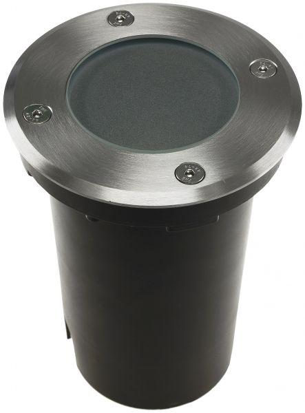 """Bodenleuchte """"BEL Uni R"""" ØxT 11x14cm, IP65, GU10 Fassung, rund"""