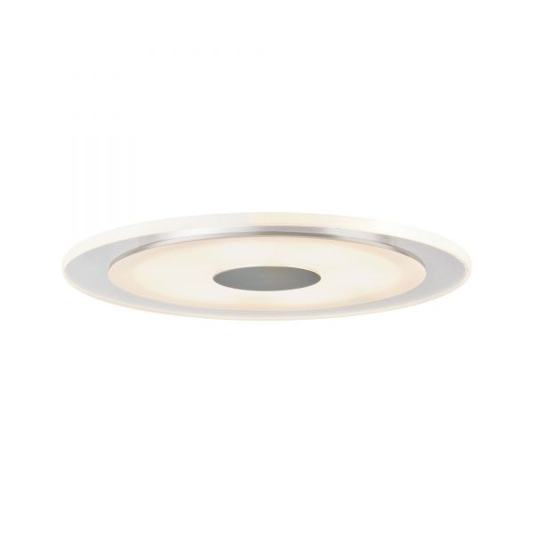 Paulmann Premium EBL Set Whirl rund dim LED 3x6W 18VA 350mA 150mm Alu g/Satin Alu/Acryl