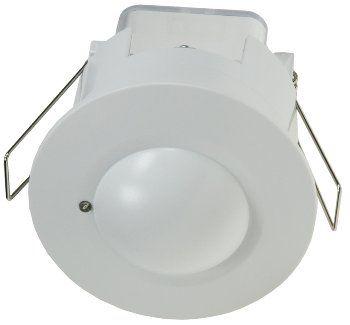 Decken-Einbau-Bewegungsmelder 360° HF LED geeignet, 8m Detektion, weiß