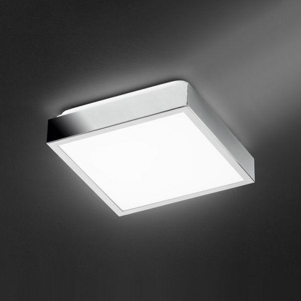 Honsel LED-Deckenleuchte Helle 10W chrom