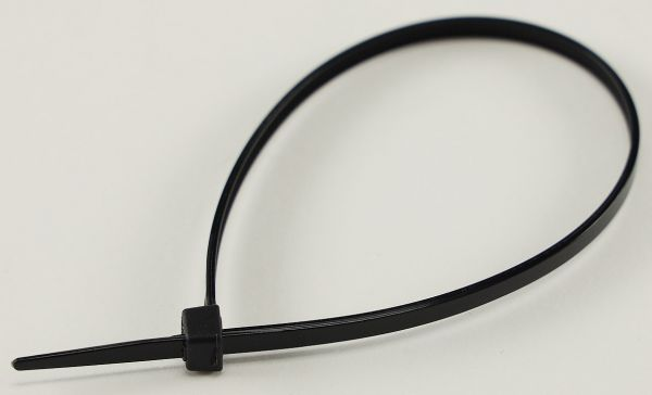 Kabelbinder 200mm x 3,5mm, schwarz 100er Pack, hohe Zugkraft, UV fest