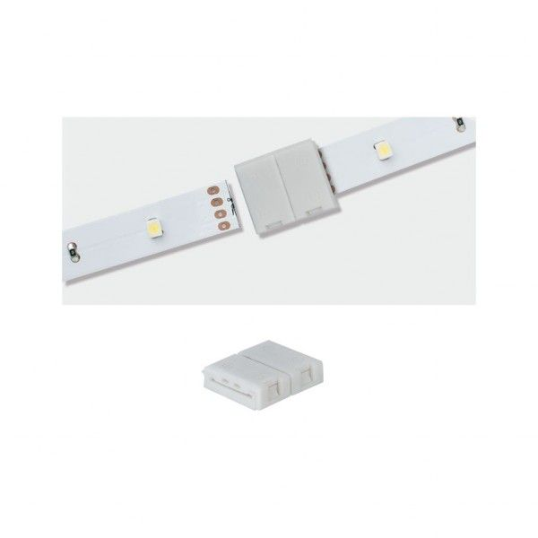 Paulmann YourLED ECO Clip-to-Clip Connector 2er Pack weiß Kunststoff