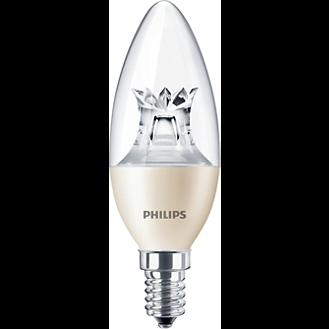 Philips Master LEDcandle klar 6W E14 DimTone