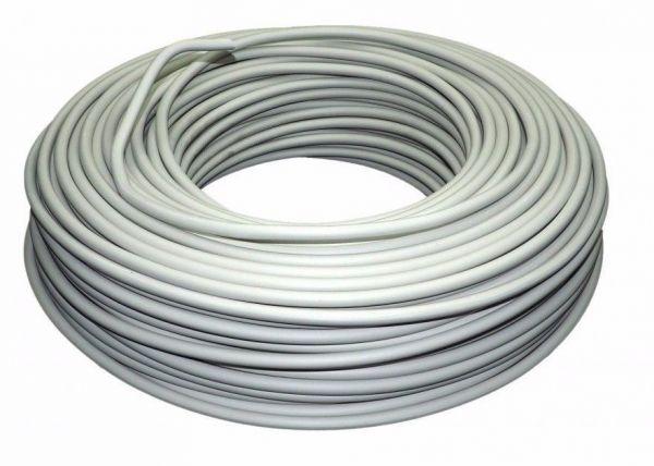 Kabel 50 Meter Mantelleitung Eca NYM-J 3x1,5 RG50m grau