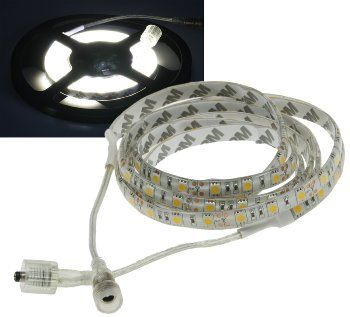 "LED-Stripe ""CLS-1000 SQ"" 10m,neutralweiß 12V/100W, 600 LEDs, IP44, 8500 Lumen"