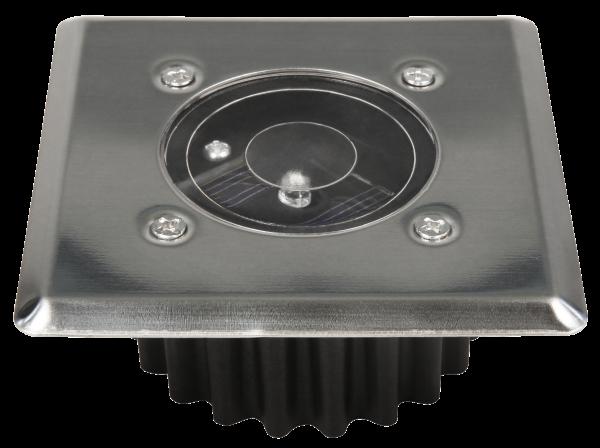 LED-Solar-Bodeneinbauleuchte McShine LSB-05 85x85x35mm, IP44