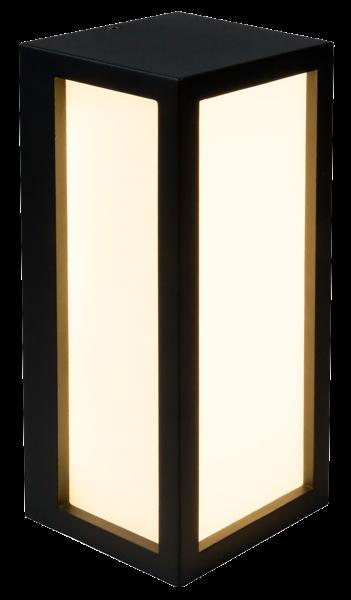 LED Wandleuchte, außen, 110x103x250mm, Aluminium, 660lm, IP54