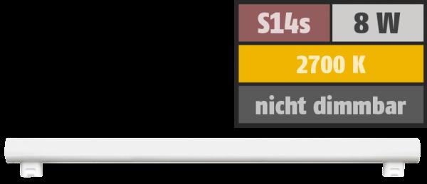 LED Linienlampe HD95 S14s, 8W, 480lm, 2700K, warmweiß, Ra>95, 50cm
