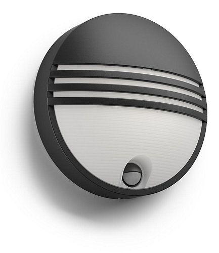 Philips Lighting myGarden LED-Wandleuchte Yarrow mit oder ohne Bewegungssensor
