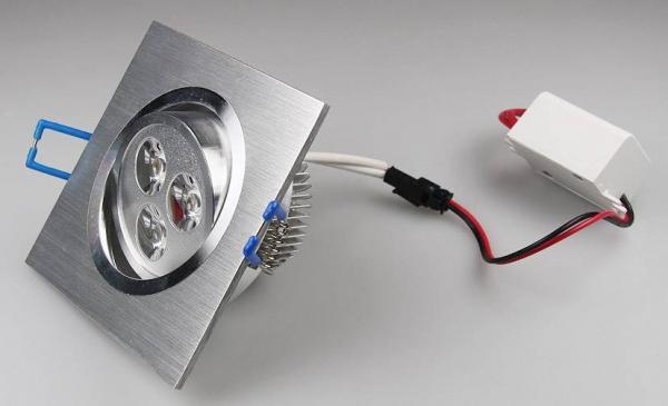 LED-Einbauleuchte QD-3 3W 240lm