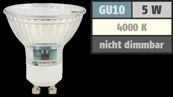 LED-Strahler McShine ET50, GU10, 5W, 400 lm, neutralweiß