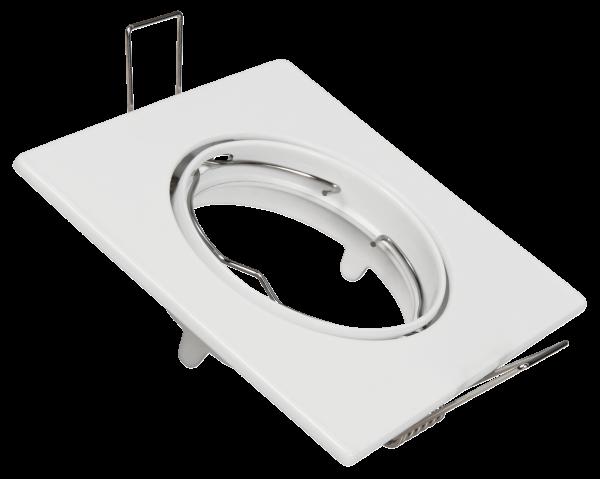 Einbaurahmen McShine DL-104, weiß, 85x85mm, schwenkbar