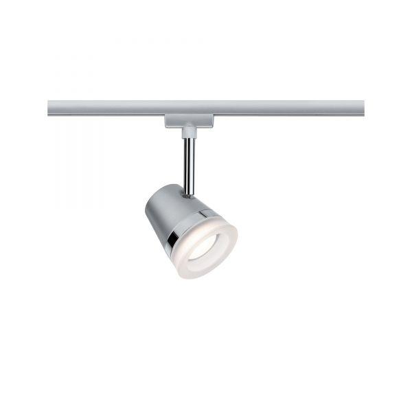 Paulmann URail LED Spot Cone 6,5W GU10 Chrom matt inkl. Leuchtmittel