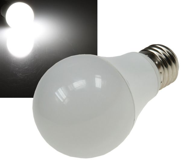"LED Glühlampe E27 ""G70 AGL"" weiß 4000k, 820lm, 230V/10W, 270°"