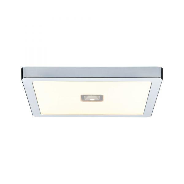 Paulmann WallCeiling Beam LED-Panel IP44 300x300mm 13,5W+2W 230V Chrom/Kunststoff