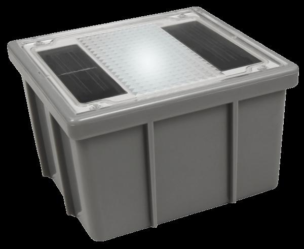 Solar LED-Bodenleuchte McShine Pflasterstein 10x10x6cm, IP68