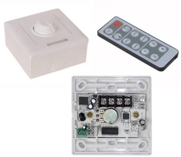 Dimmer für LED-Stripes Aufputz-Variante