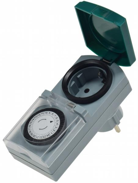 analoge Tages-Zeitschaltuhr, IP44