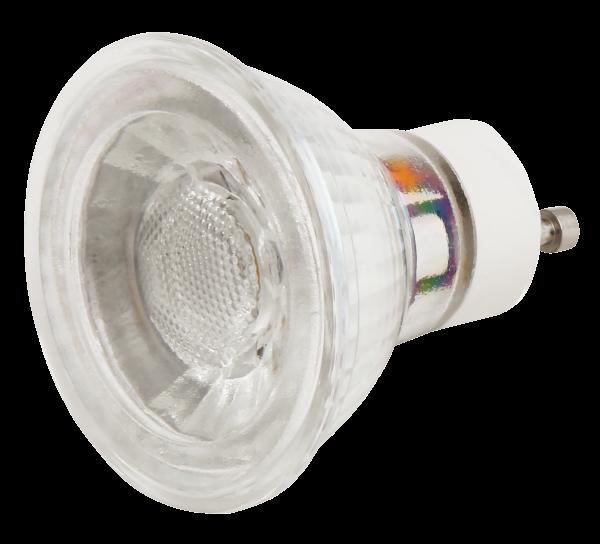 LED-Strahler McShine ET54 GU10, 5W COB, 400lm, warmweiß