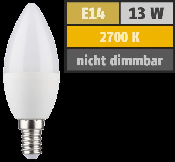 LED Kerzenlampe, E14, 5,5W, 470lm, 2700K, warmweiß, SWITCH DIM 100/55/15%