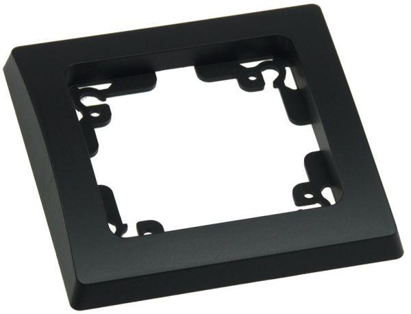DELPHI 1-fach Rahmen matt-schwarz