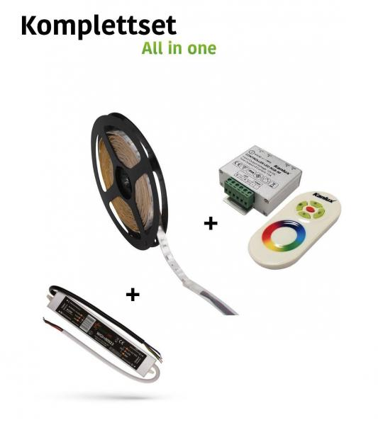 Led Stripe 5m Rgb Komplettset Led Homeshop