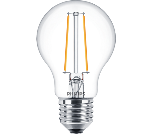 Philips Classic LEDbulb E27 4,3 W klar Filament