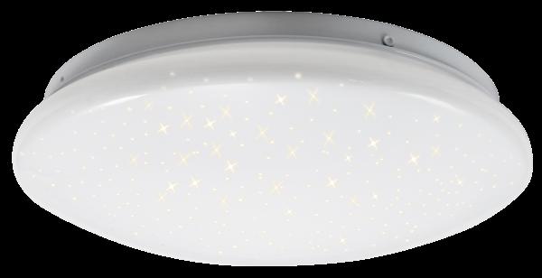 LED-Deckenleuchte McShine Starry-Sky Ø26cm, 12W, 840lm, 3000K, Sternenhimmel