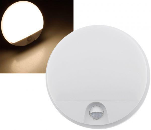 """LED Wandleuchte """"PAYAR"""" IP54, 3000K 15W, 1100lm, PIR-Bewegungsmelder"""