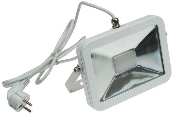 """LED-Fluter SlimLine """"CTF-SL30W"""" 30W, IP44, 2200 Lumen, 3000K, warmweiß"""