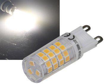 LED Stiftsockel G9, 4W, 280lm 4200k, 330°, 230V, neutralweiß