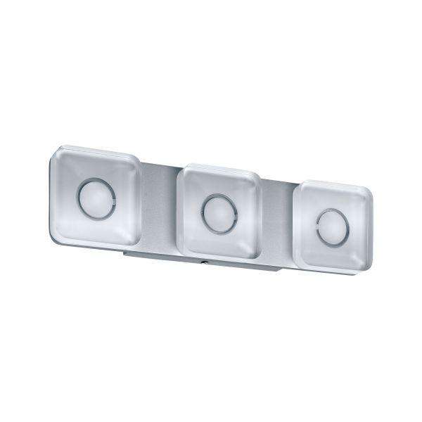 Paulmann WallCeiling eckig Tucana IP44 LED 13,5W Alu eloxiert/Klar 230V Metall/Acryl