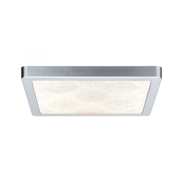 Paulmann WallCeiling Ivy LED-Panel IP44 300x300mm 14W 230V Chr matt/Kunststoff