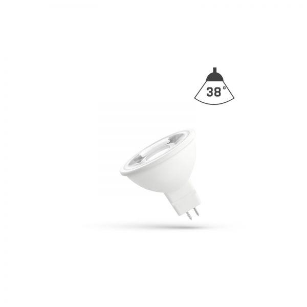 GU5.3 MR16 38° LED Spot 4 Watt 330 / 380 Lumen Lichtfarbe wählbar