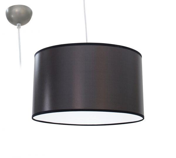 Bioledex ANISO Pendelleuchte Stoff Design hell-grau E27 35cm L110922