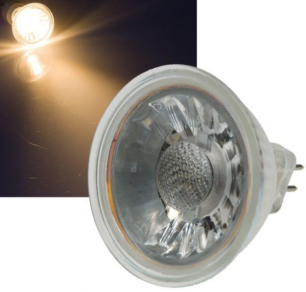 "LED Strahler MR16 ""H35 COB"" 1 COB, 3000k, 230lm, 12V/3W, warmweiß"