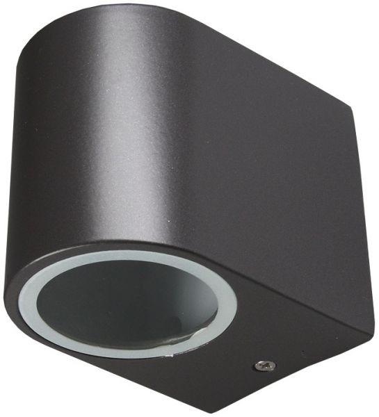 """LED-Wandleuchte """"CTW-1"""" für 1x GU10, IP44, Gehäuse schwarz"""