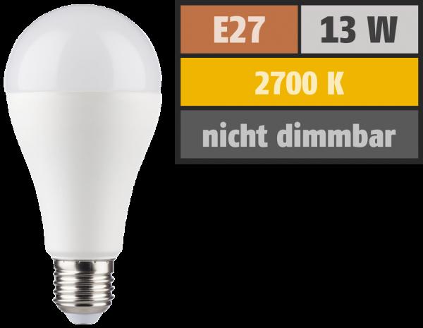LED Glühlampe HD95 E27, 13W, 1055lm, 2700K, warmweiß, Ra>95