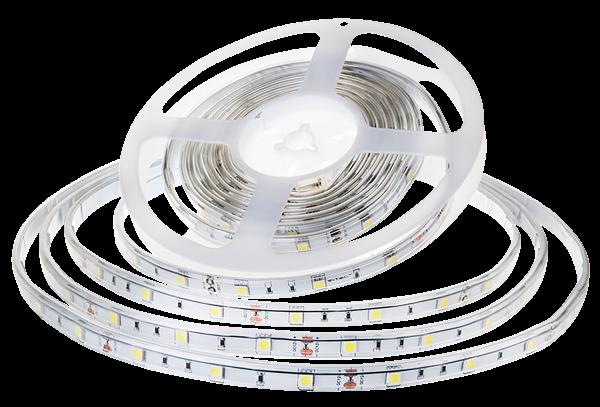 LED-Stripe 30LED/m, 420lm/m, 4,8W/m, 12V, warmweiß 3000k, 5m, IP65