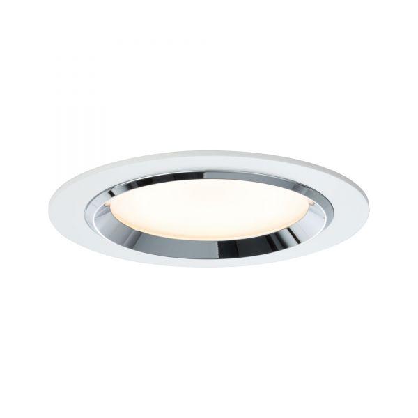 Paulmann Premium EBL Set Dot rund LED 3x8W 36VA 230V/700mA 150mm Weiß/Chrom Alu